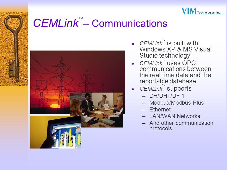 CEMLink– Communications