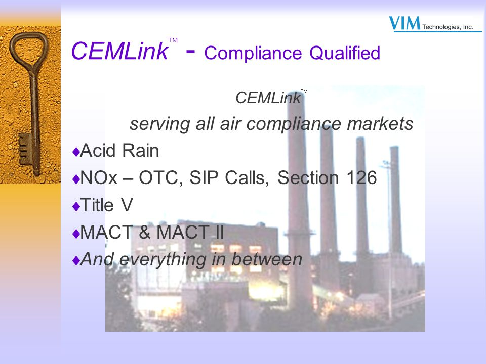 CEMLink - Compliance Qualified