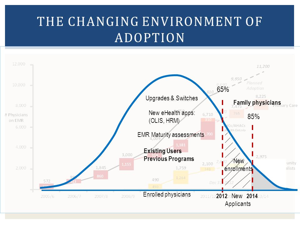 The Changing Environment of Adoption