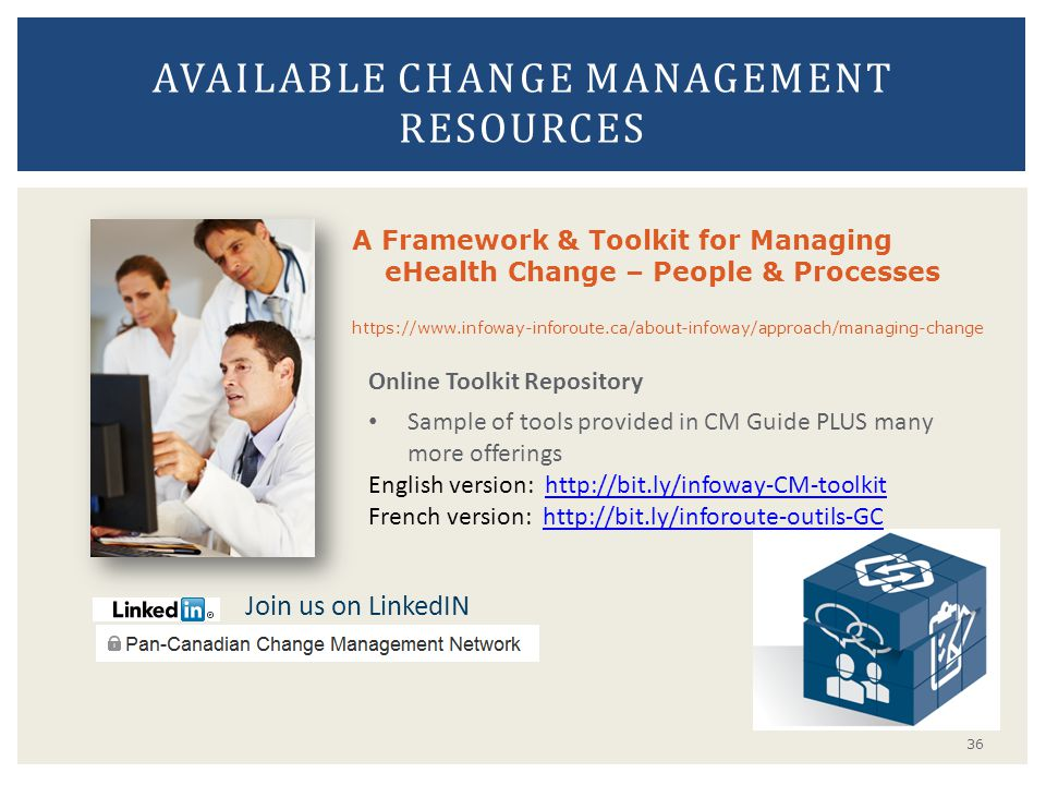 Available Change Management Resources