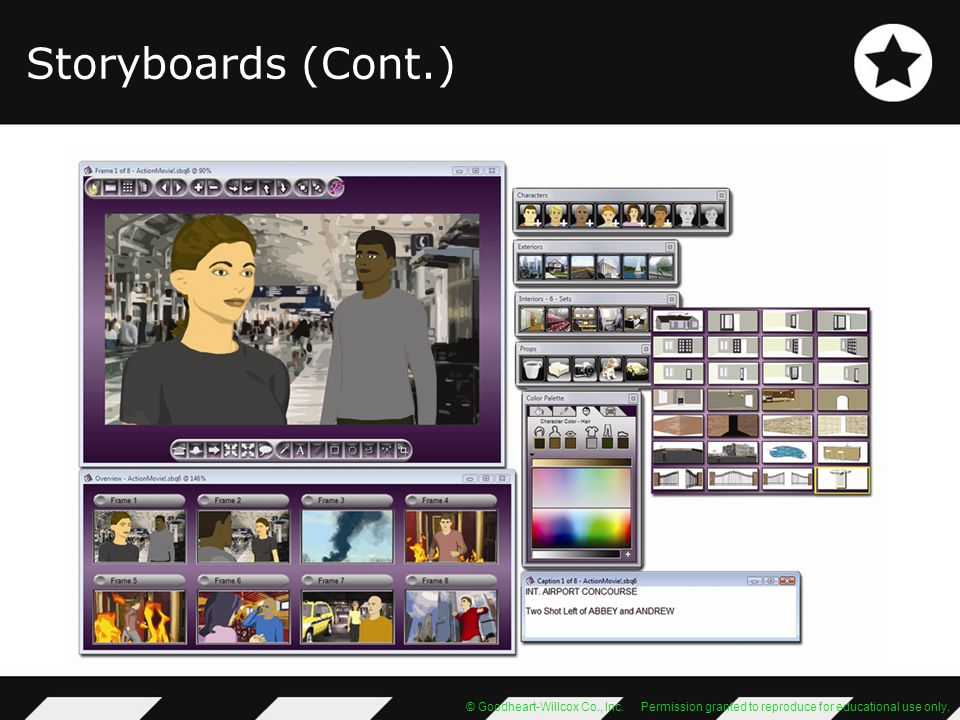 Storyboards (Cont.)