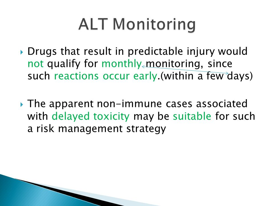 ALT Monitoring