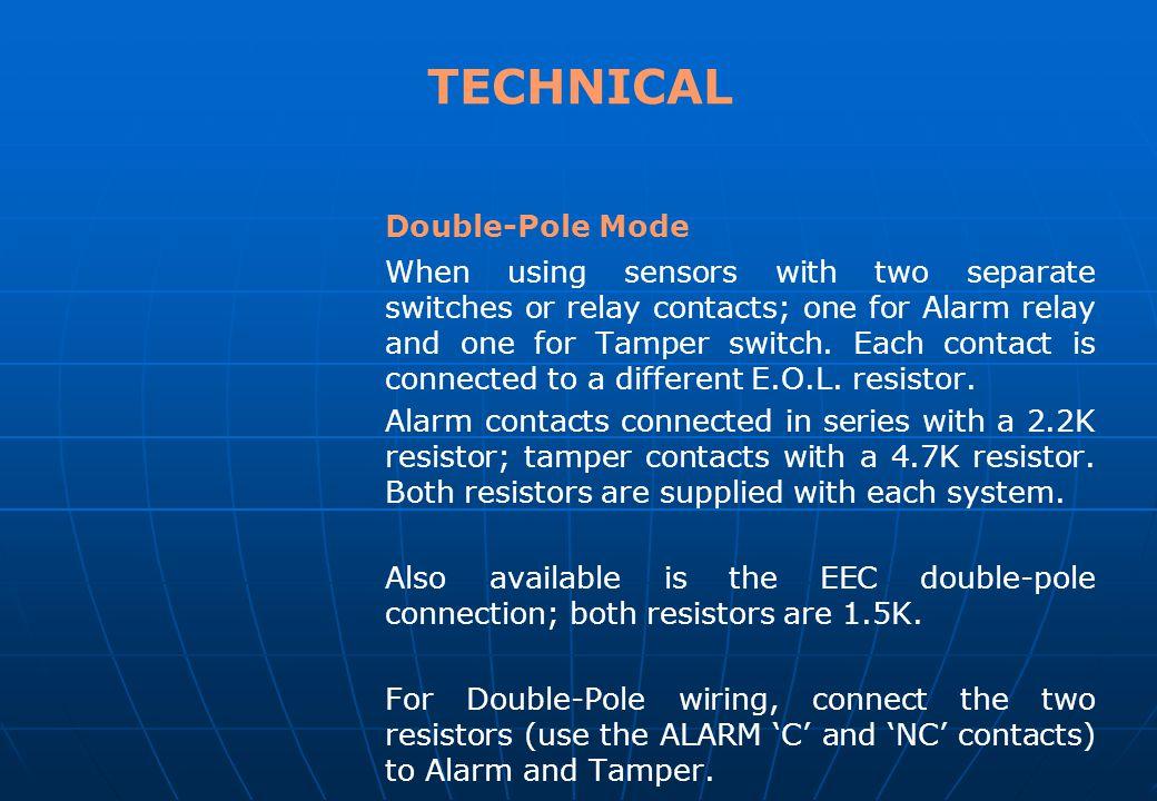 TECHNICAL Double-Pole Mode