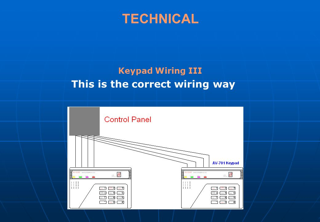 This is the correct wiring way