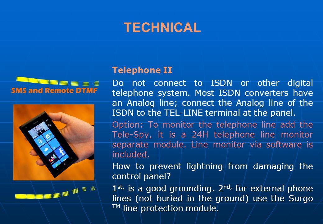 TECHNICAL Telephone II