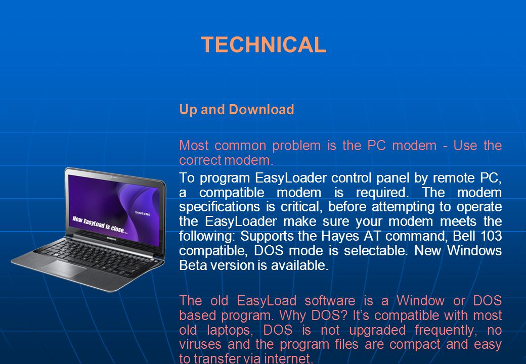 TECHNICAL Up and Download