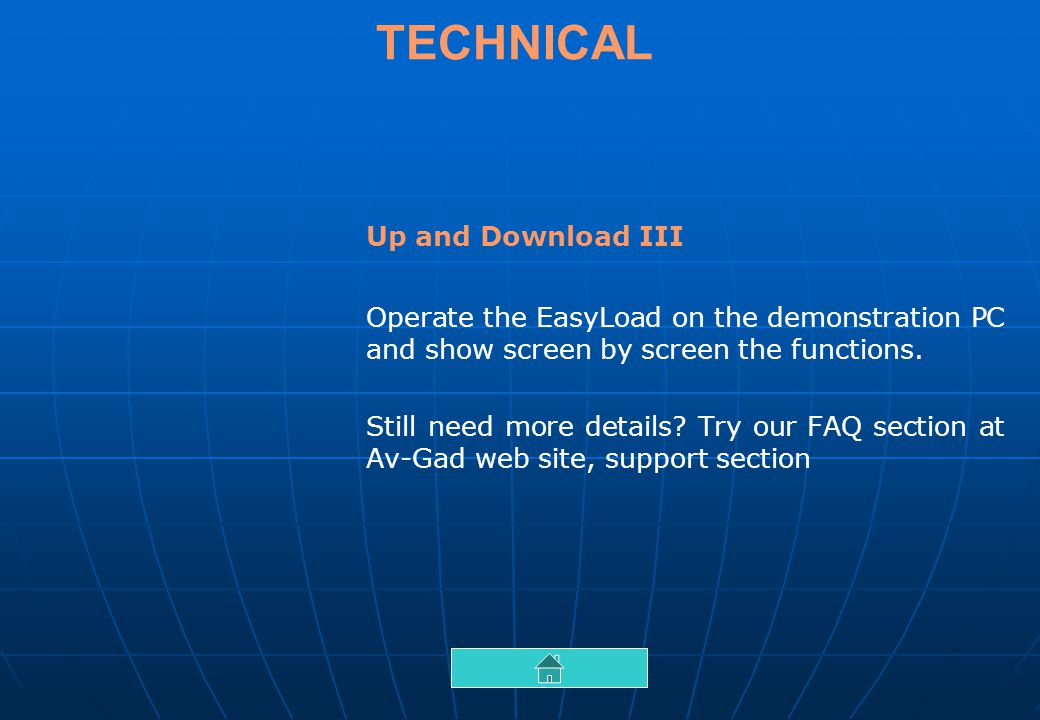 TECHNICAL Up and Download III