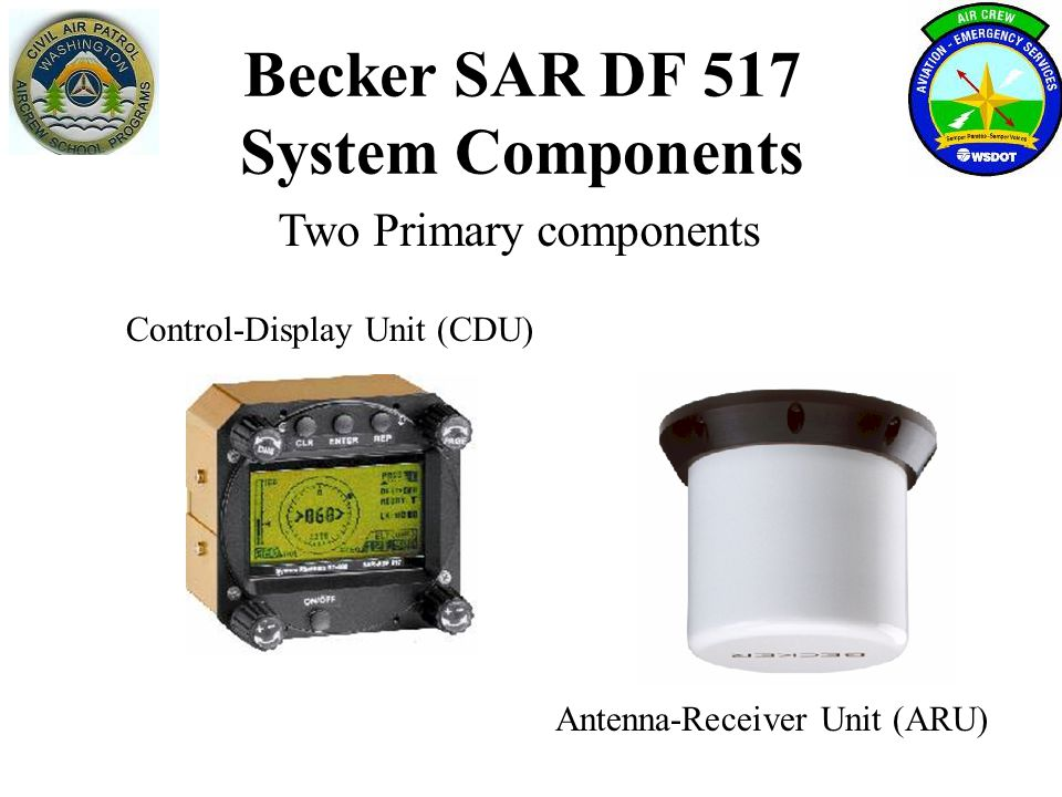 Becker SAR DF 517 System Components