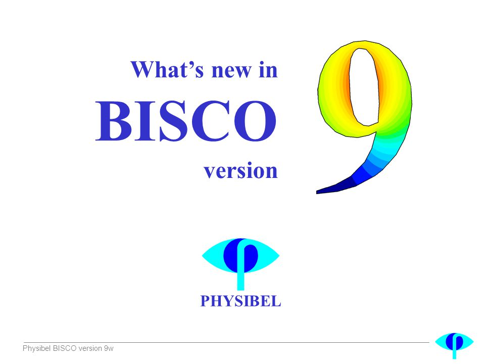 What's new in BISCO version
