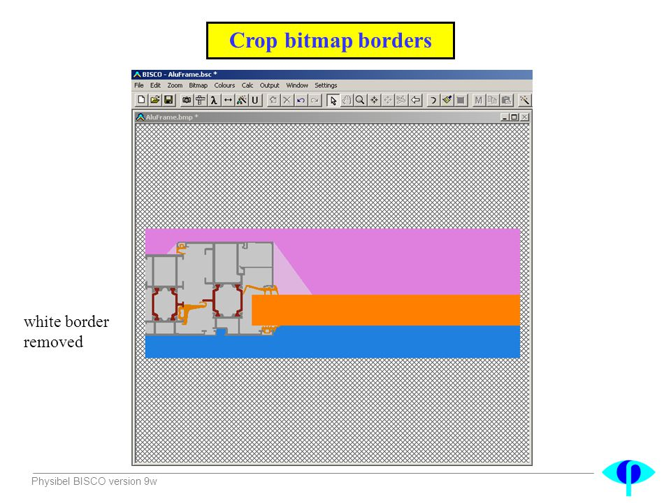 Crop bitmap borders white border removed