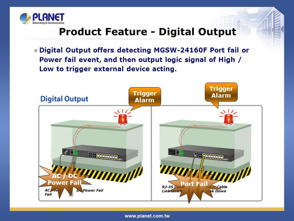 Product Feature - Digital Output