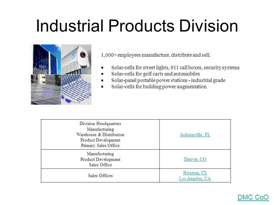 Industrial Products Division