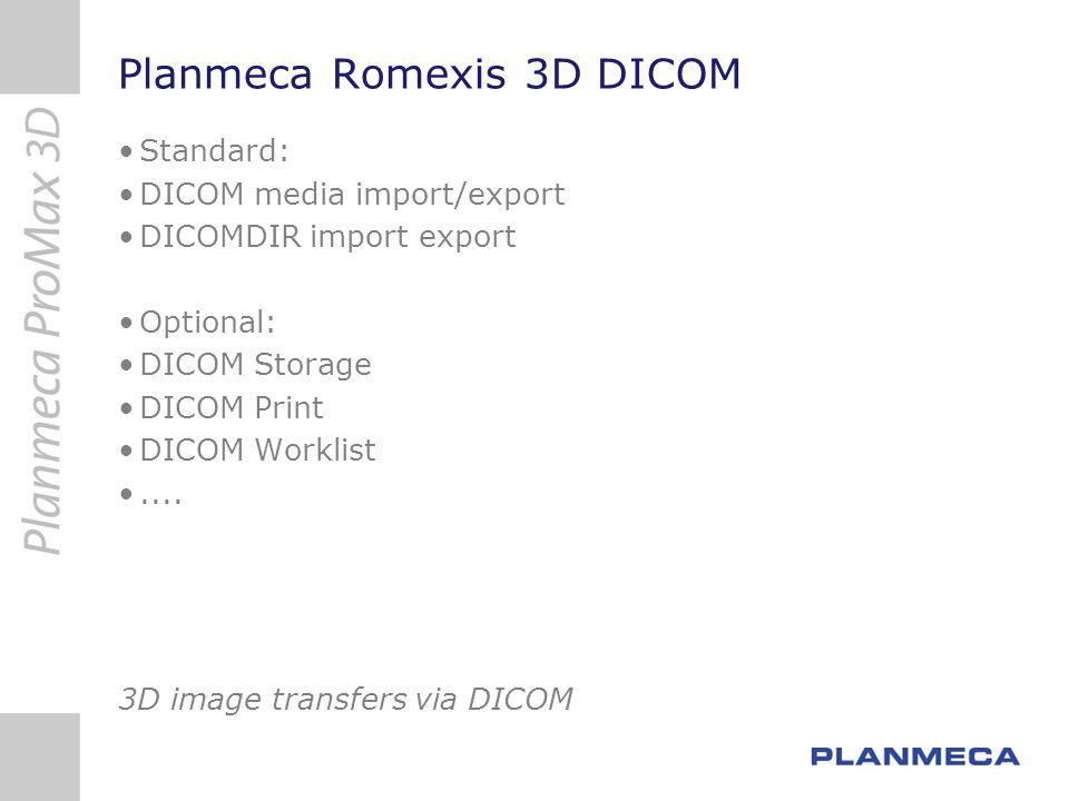 Planmeca Romexis 3D DICOM