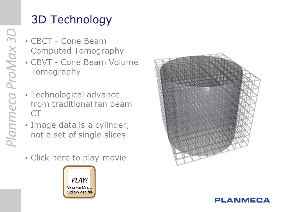 3D Technology CBCT - Cone Beam Computed Tomography