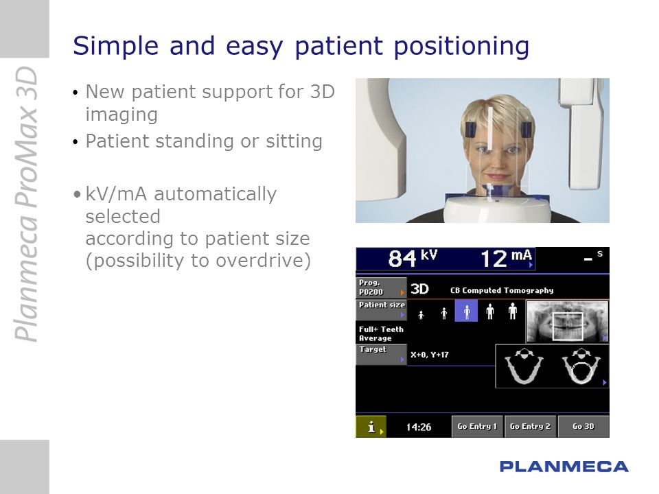Simple and easy patient positioning