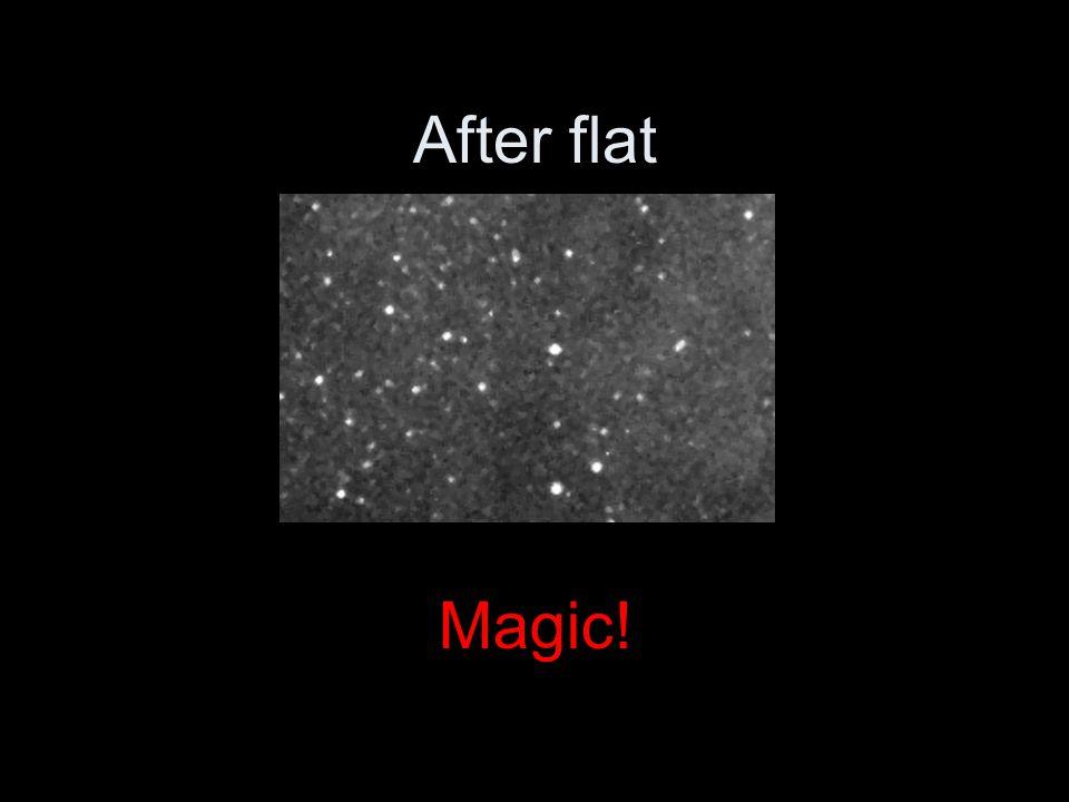 After flat Magic!