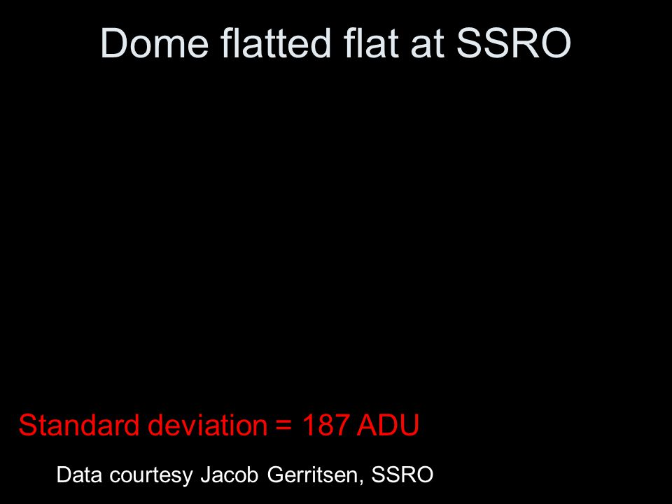 Dome flatted flat at SSRO