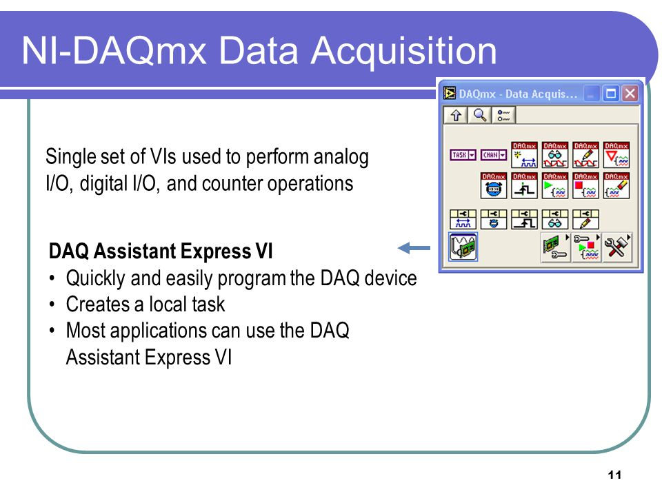 NI-DAQmx Data Acquisition