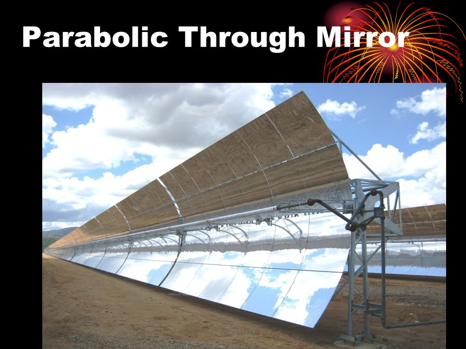 Parabolic Through Mirror