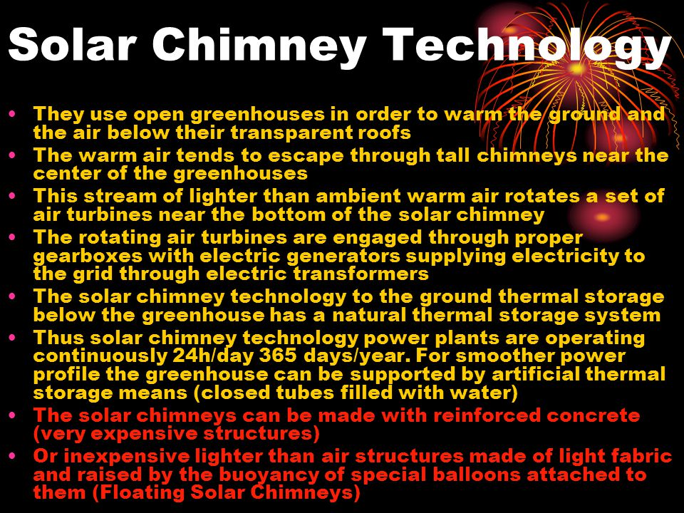 Solar Chimney Technology
