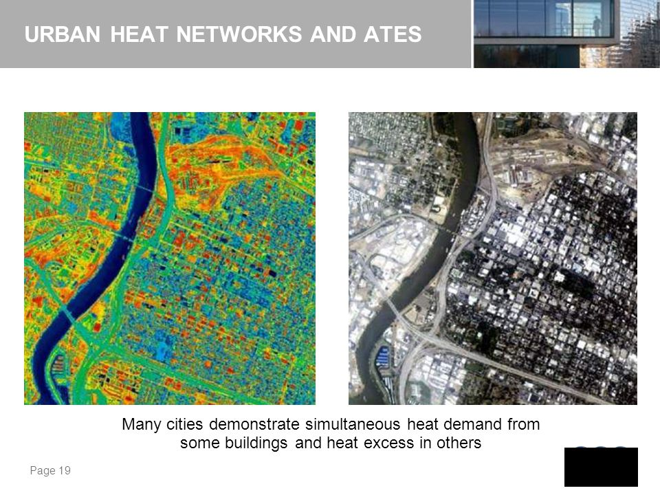 URBAN HEAT NETWORKS AND ATES
