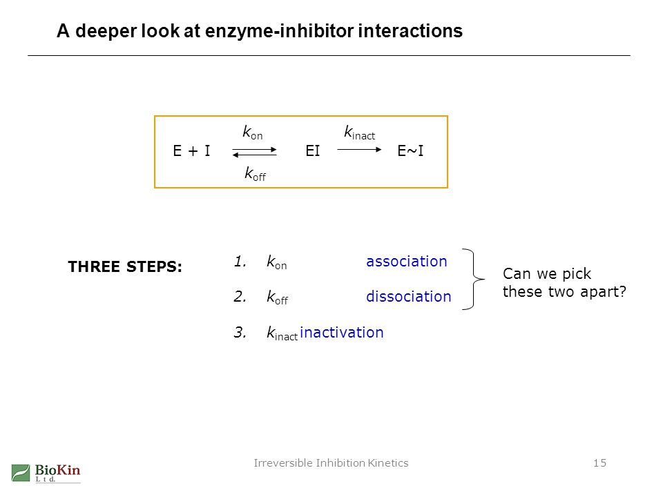 A deeper look at enzyme-inhibitor interactions