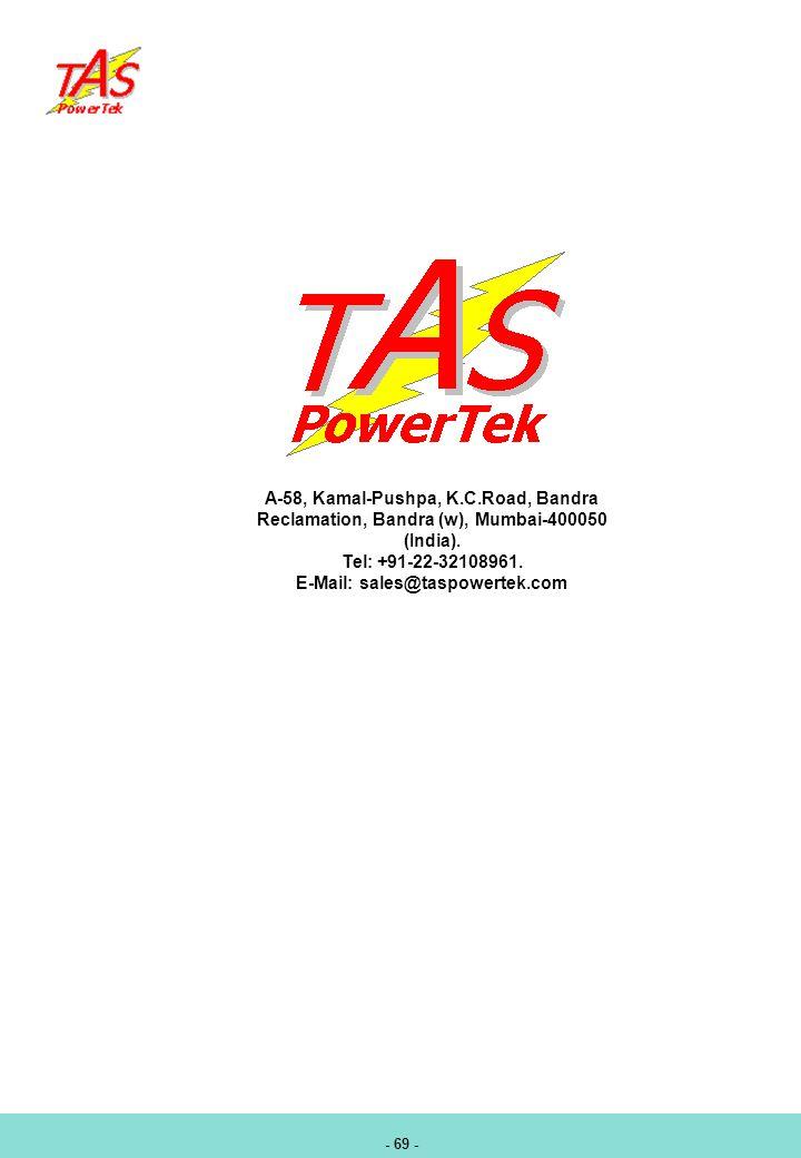 E-Mail: sales@taspowertek.com
