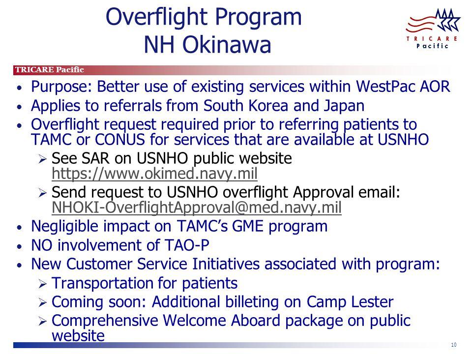 Overflight Program NH Okinawa
