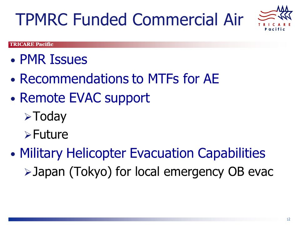 TPMRC Funded Commercial Air