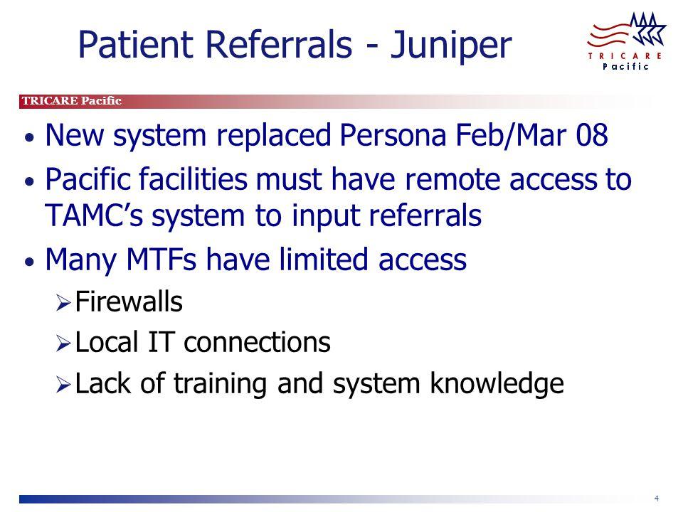 Patient Referrals - Juniper