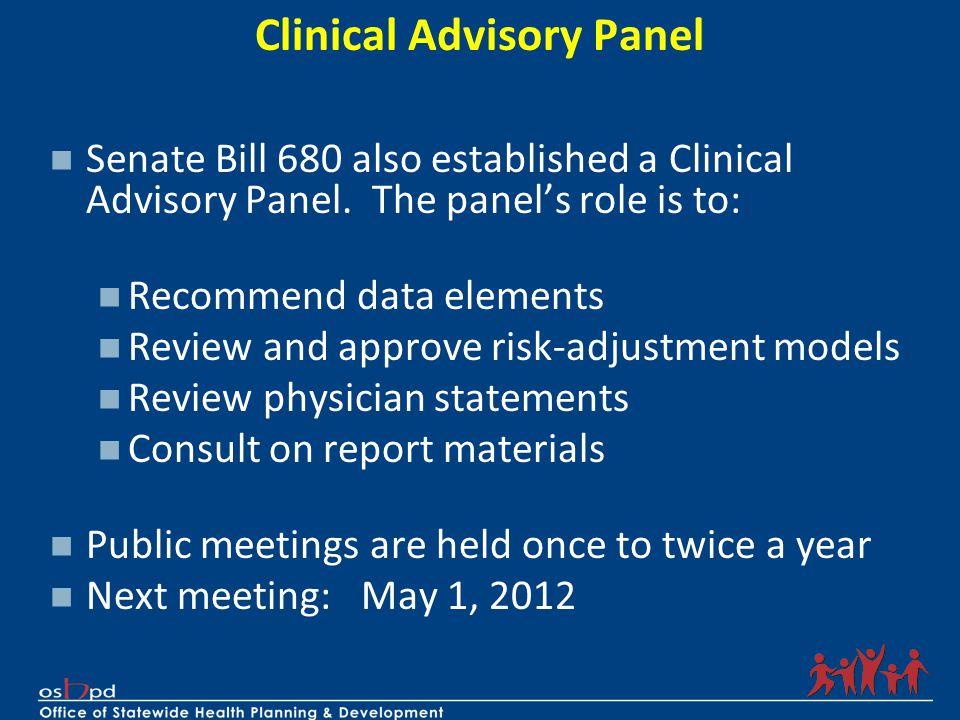 Clinical Advisory Panel