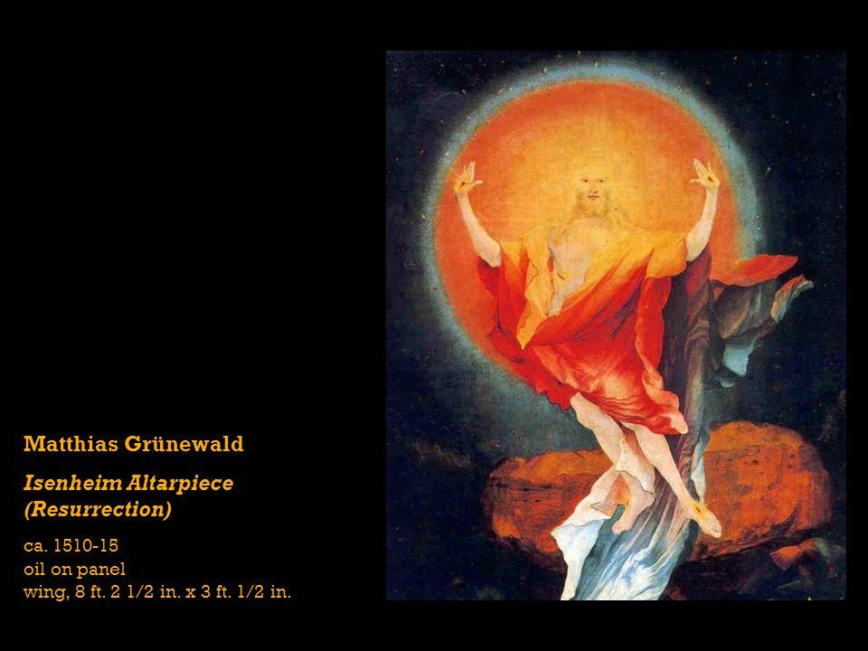 Isenheim Altarpiece (Resurrection)