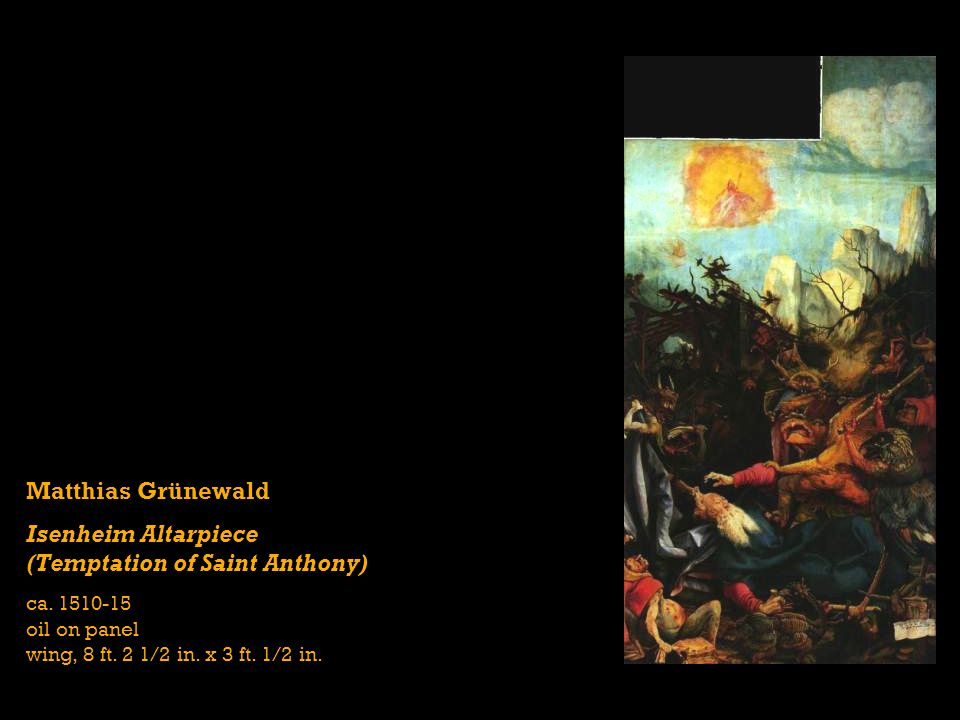 Isenheim Altarpiece (Temptation of Saint Anthony)
