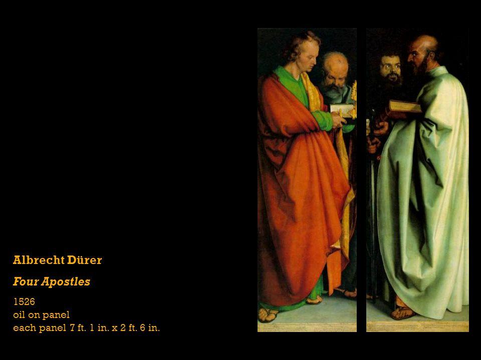 Albrecht Dürer Four Apostles