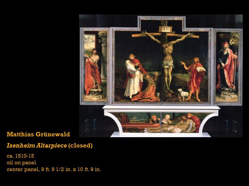 Isenheim Altarpiece (closed)