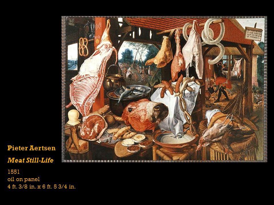 Pieter Aertsen Meat Still-Life