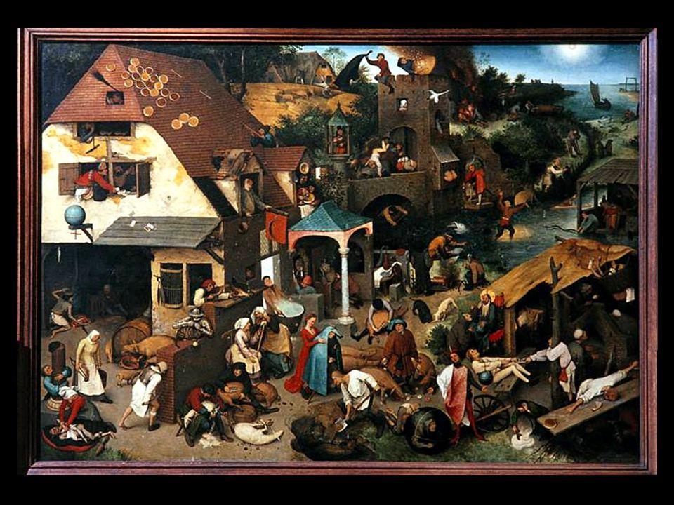 Pieter Breugel the Elder Netherlandish Proverbs