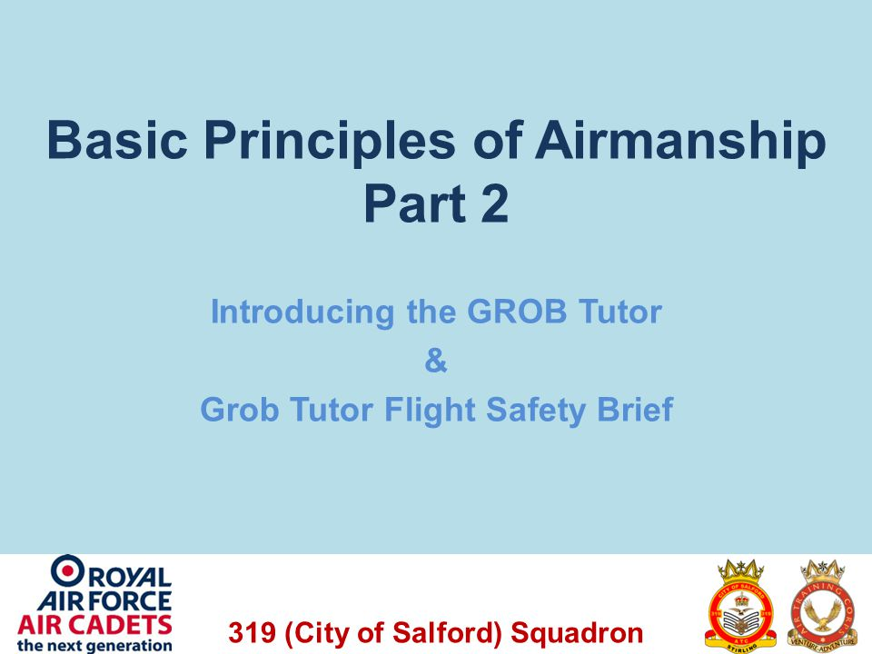 Basic Principles of Airmanship Part 2