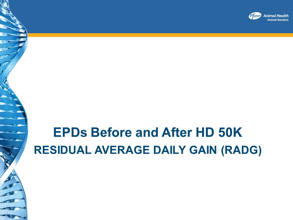 Residual Average Daily Gain (RADG)