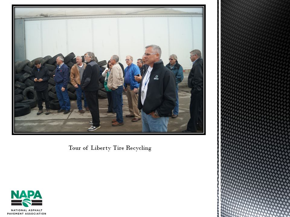 Tour of Liberty Tire Recycling