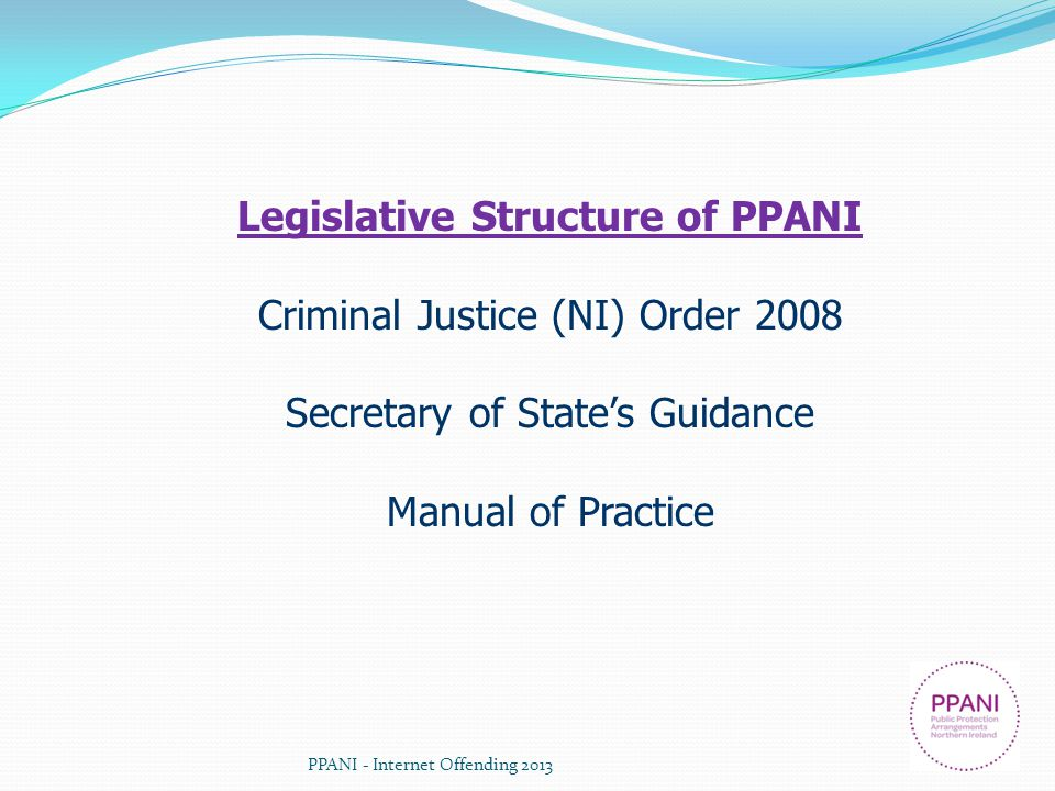 Legislative Structure of PPANI