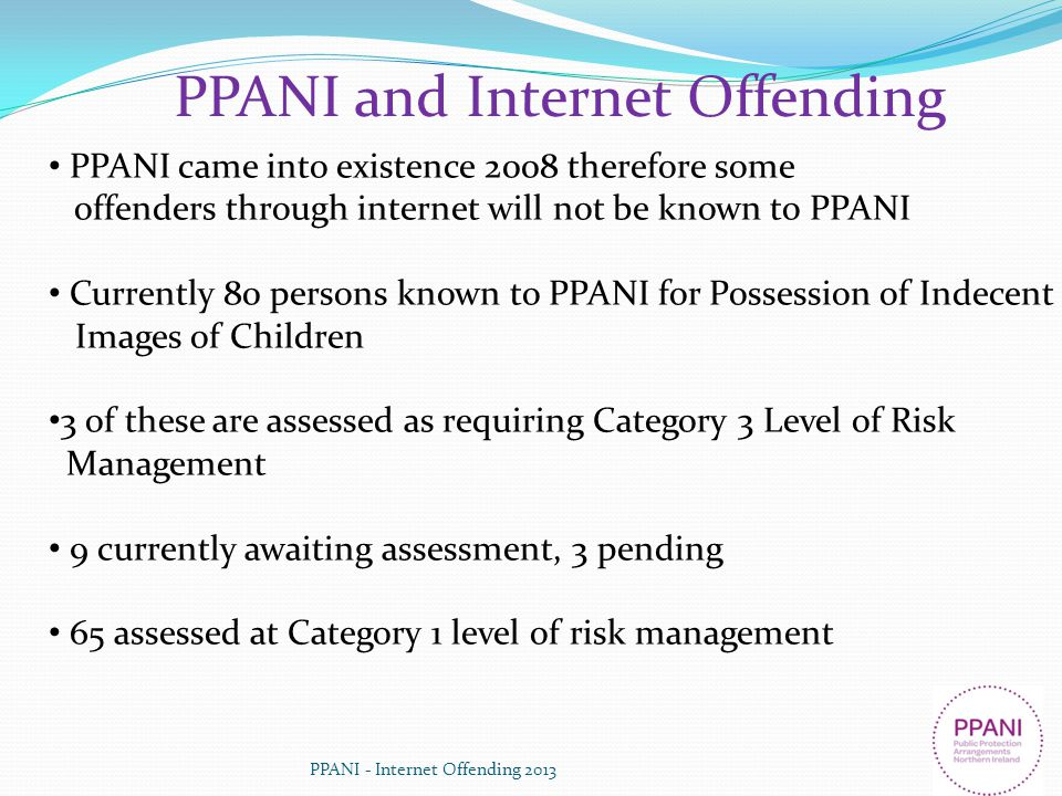 PPANI and Internet Offending
