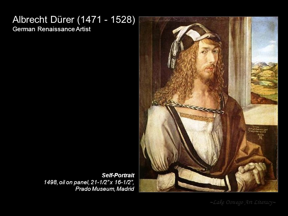 Albrecht Dürer (1471 - 1528) German Renaissance Artist