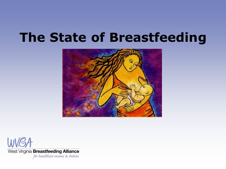 The State of Breastfeeding