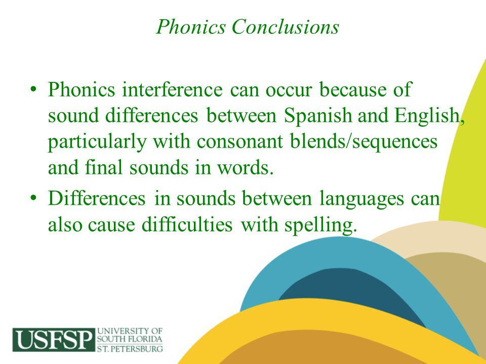 Phonics Conclusions