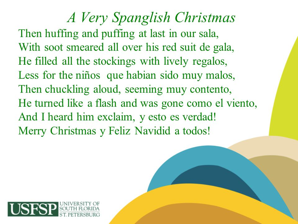 A Very Spanglish Christmas