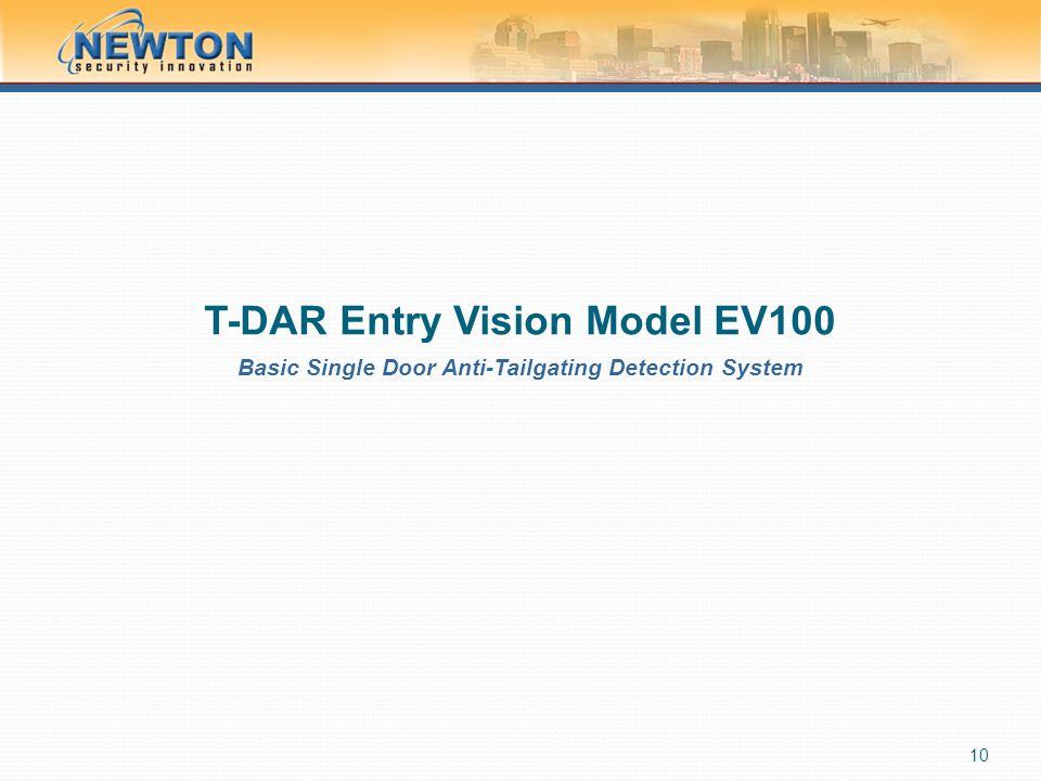 T-DAR Entry Vision Model EV100