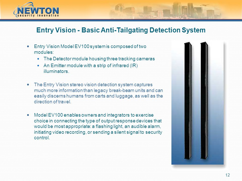 Entry Vision - Basic Anti-Tailgating Detection System
