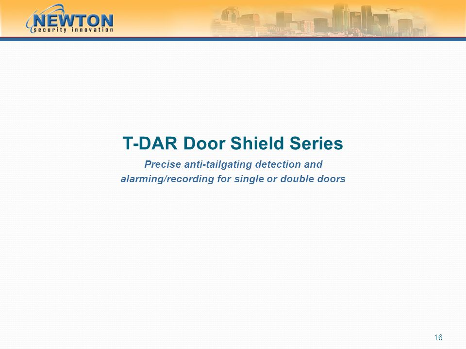 T-DAR Door Shield Series