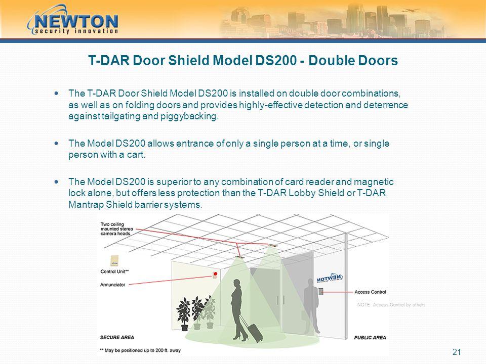T-DAR Door Shield Model DS200 - Double Doors